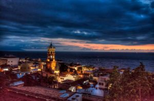 Puerto Vallarta at night